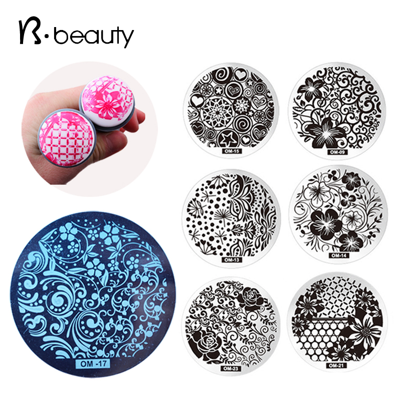 Гаджет  10pcs New Design OM Nail Art Stamping Plate,Fashion Nail Art Template Stencil Polish Printing Nail Stamp Manicure Tools None Красота и здоровье