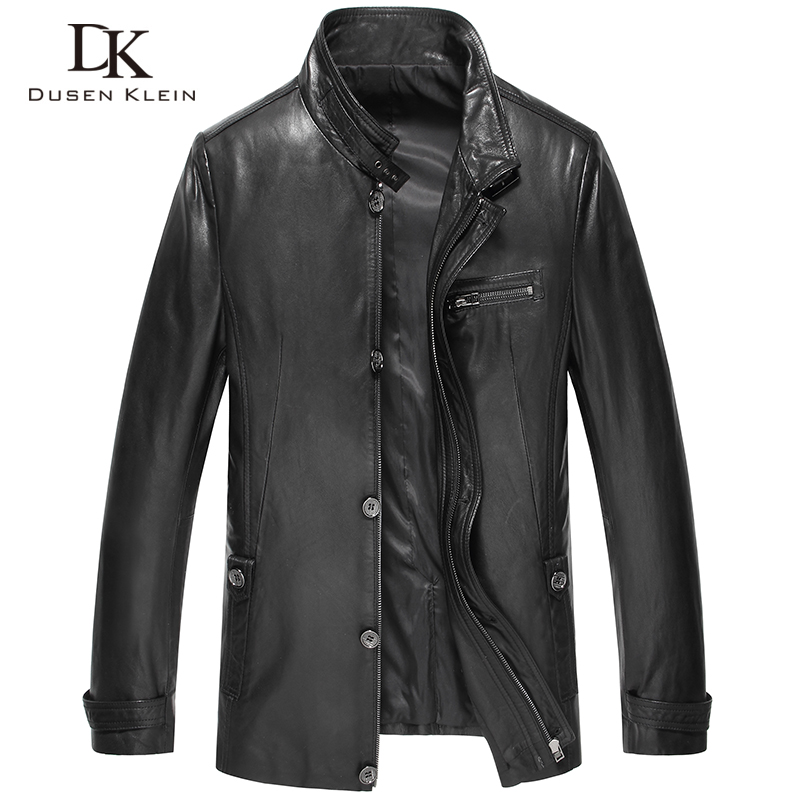 M-6XL 2014 Autumn New Mens Real Genuine Natural Lamb Leather Jackets Man Coat Male Plus Size Free Shipping A06Одежда и ак�е��уары<br><br><br>Aliexpress