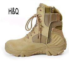 Men Military Boots Delta Tactical Desert Combat Boots Shoes Black Outdoor Autumn Men Climbing Size 39-45  Shoes Men A1097(China (Mainland))