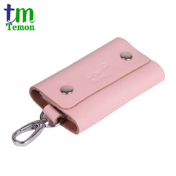 whole sale Free shipping, Promotion gifts, Men&amp;Womens Korea fashion genuine leather key bag with 6 key ring  KC001<br><br>Aliexpress