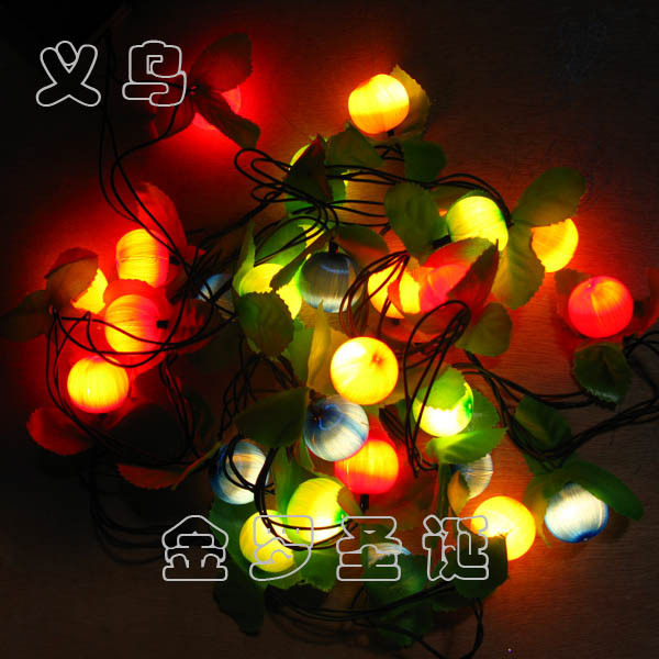 hot sale! Quality! Christmas decoration wire ball multicolour silk ball 5 meters 28 hair light lighting string christmas<br><br>Aliexpress