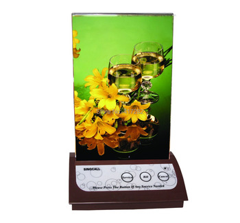 SINGCALL.wireless calling system,waiter call button,table top service bell with 3 kinds of options: Service Bill Cancel