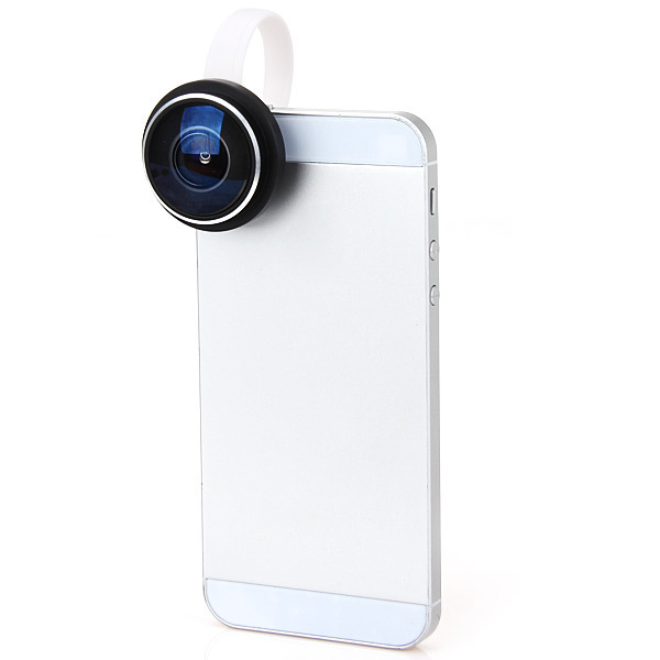 Universal Super 235 Detachable Clip Fish eye Fisheye Lens Camera For All Phones iPhone 4S 5S 5C 5 6 6PLUS Samsung HTC
