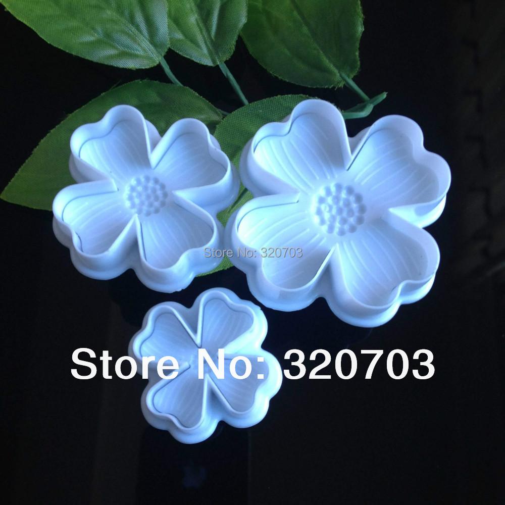3pcs love spring embossing die mold printing sugar cookies Indian sugar flower tool DIY baking mould freeshipping #020071(China (Mainland))