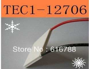 10pcs/lot TEC1-12706 91.2W TEC Thermoelectric Cooler Peltier,free shipping