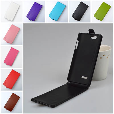 Leather Cases for ZTE Blade L2,Vertical Flip Case Cover for ZTE L2 High Quality Moblie Phone Bags with Magnetic 9 Colors(China (Mainland))