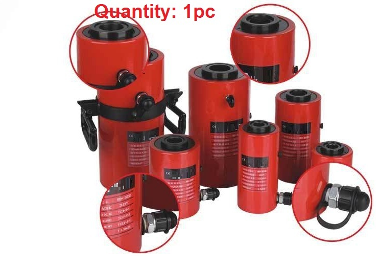 20T,100MM electric hydraulic jack with center hollow, industrial grade lifting jack, heavy duty electric jack(China (Mainland))