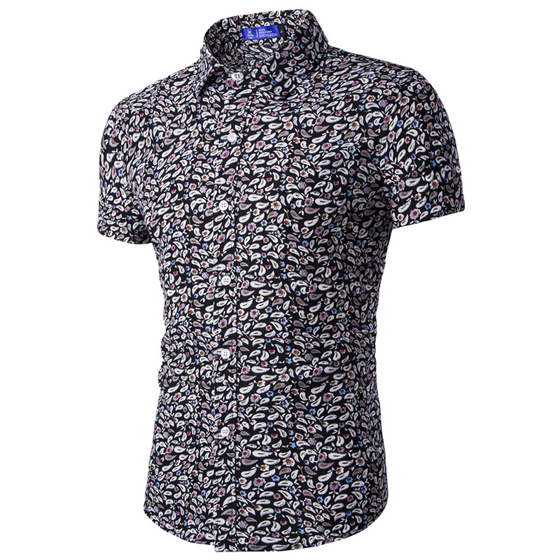 Popular Small Flower Shirt Men-Buy Cheap Small Flower Shirt Men ...