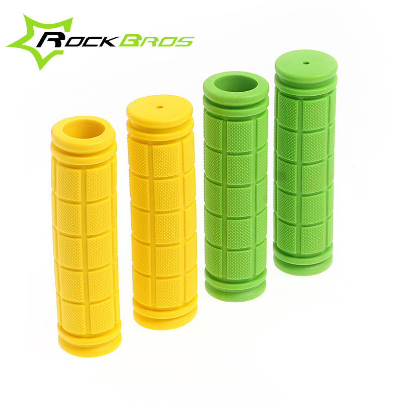 RockBros Cycling Fixed Gear Fixie Grips MTB Mountain Bike Bicycle Handlebar Grips Soft Durable Rubber Cycle Parts,10 Color(China (Mainland))