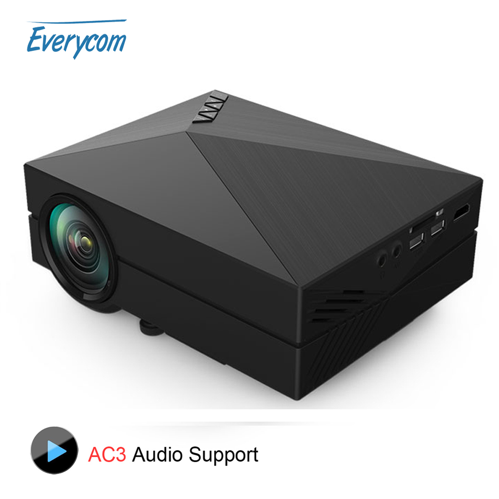 2016 Original GM60 Cheap Mini Projector 1000 Lumens 1920 x 1080 Video USB VGA SD Home Video GM 60 HDMI Proyector Beamer AC3(China (Mainland))