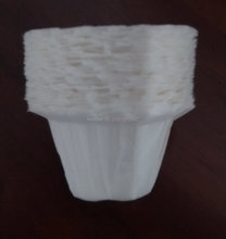 Own patented K-cup coffee filters for Keurig Brewer compatible with the reusable and disposable k-cups 200pcs/lot free shipping(China (Mainland))