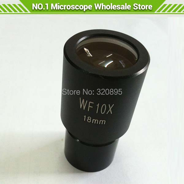 Widefield WF10X/18mm Microscope Eyepiece 23.2mm Mounting Hole Eyepiece for Biological Microscope<br><br>Aliexpress