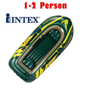 1PC High Quality 2 Person INTEX Inflatable Fishing Boat Rubber Boat For Outdoor Kayak