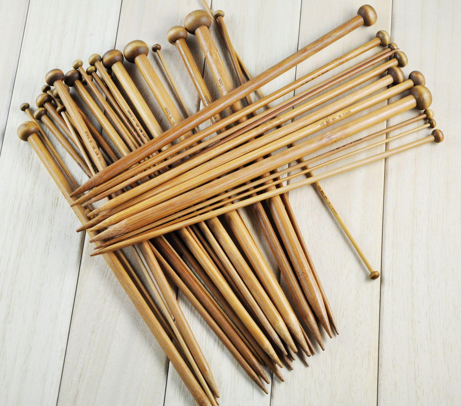 Чем больше спицы для вязания