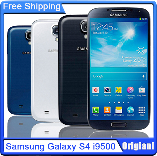 Samsung Galaxy S4 i9500 Original Unlocked Cell phone 3G & 4G 13MP Camera 5.0'' Touch Refurbished Phone NFC WiFi GPS(China (Mainland))