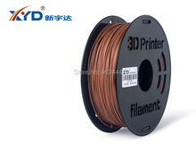 XYD New 3D Printer Filament 1.75/3mm Wood/Bamboo 1KG Makerbot/Reprap/Mendel/UP/other