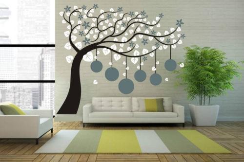 Large Photo Frame Tree wall sticker home decor vinyl decal plant wall decor wall art mural wallpaper 180X210CM