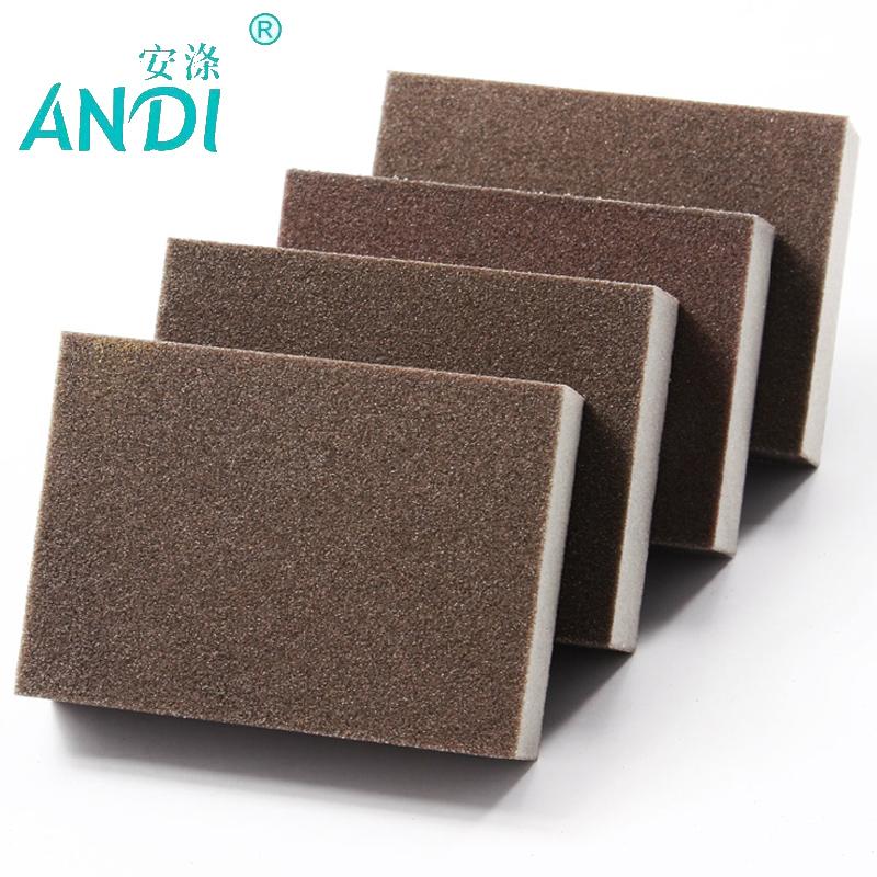 30pcs/lot 10*7*2.5cm Highest Density ANDI Kitchen Nano Emery Magic Clean Rub the pot Except rust Focal stains Melamine Sponge(China (Mainland))