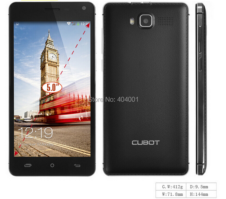 Cubot S200 MTK6582 Quad Qore Cell Phone Android 4 2 5 5inch IPS QHD Screen 1GB