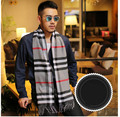 Winter Big Size Scarves 210 32 CM Brand Designer Cashmere Scarf Men Scarves for Mens Warm