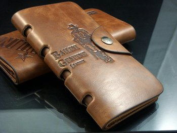 Free shipping,2012 fashion Men genuine cow Leather long  Wallet Pockets rfid Card Clutch Cente Bifold Purse ,  wholesale W-B8