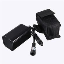 High Quality 6400mAh 8.4v Rechargeable Battery Pack for 8.4V Headlight Head Lamp / Bike Light Free Shipping