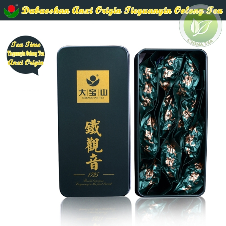 Dabaoshan Tea Time Anxi Tie Guan Yin Milk Oolong Tea 78g,Sweet Fragance Weight Lose Green Tea Food For Women&Men Personal Care(China (Mainland))