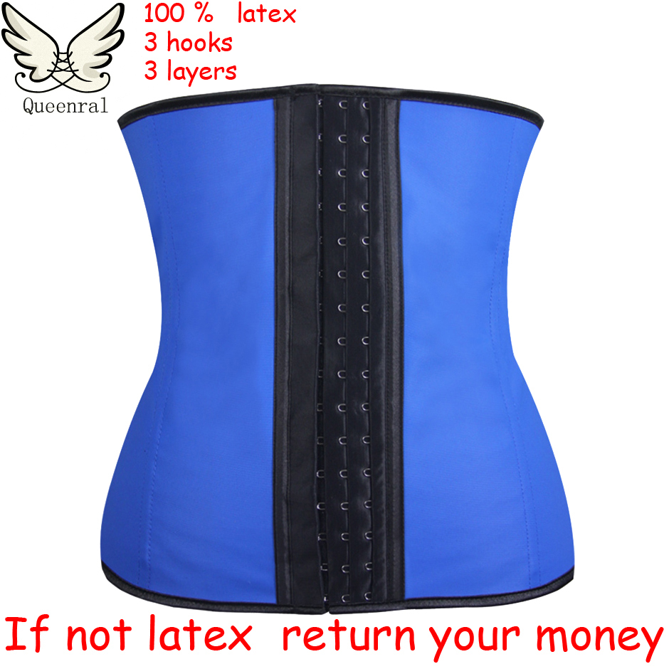 plus size waist training corsets hot shapers body shapers rubber waist trainer latex waist cincher latex waist trainer(China (Mainland))