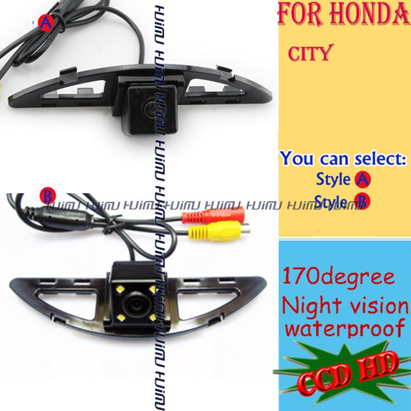 CCD HD night vision CAR Rear View CAMERA backup rearview system parking aid car monitor  for Honda  CITY<br><br>Aliexpress