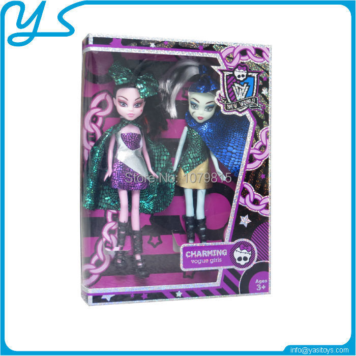 Solid Vampire Doll Solid Ghost Dolls Two Apparition Girls toys Solid Double BA BI Toys(China (Mainland))