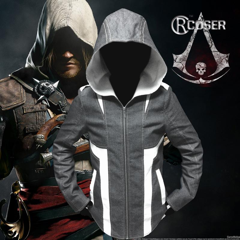 Мужская толстовка Hoodie Assassins Creed 3 iii Kenway Conner Kenway Hoodie игра для xbox xbox360 assassins creed iii