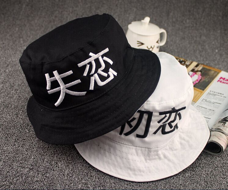 popular chinese letter hat