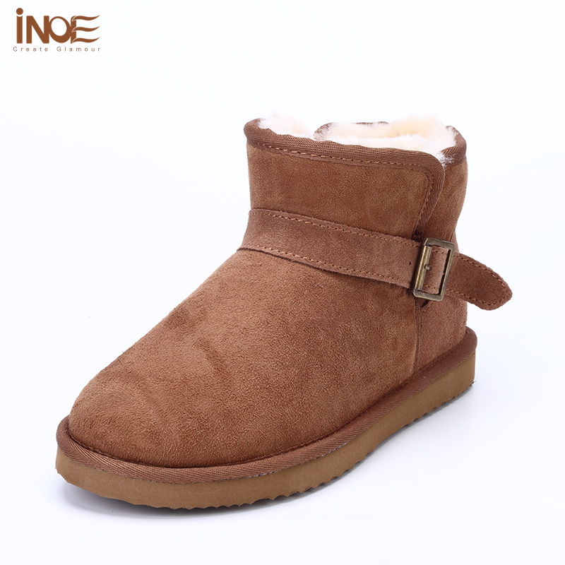 5874 fashion wool fur snow boots for women female winter boot shoes keep warm short ankle boots wholesale discount free shipping<br><br>Aliexpress