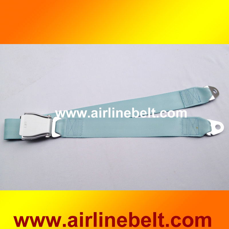 Top classic two points car seat belt luxury safety belt airplane aircraft seat belt buckle belt(China (Mainland))