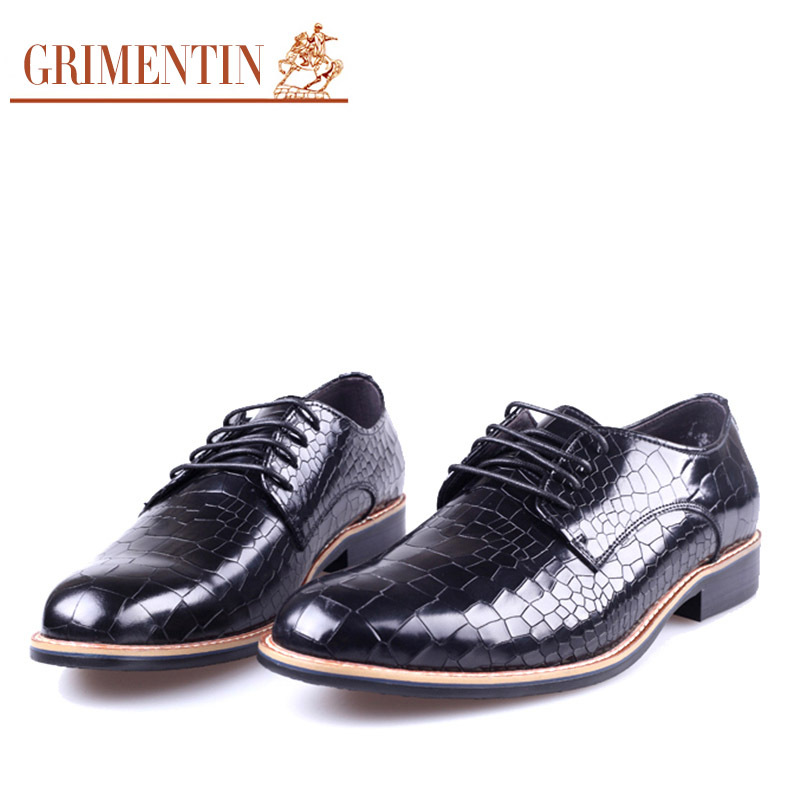 2015 Italian luxury brand classic casual mens shoes genuine leather fashion design crocodile flats for men office size6.5-10.5(China (Mainland))