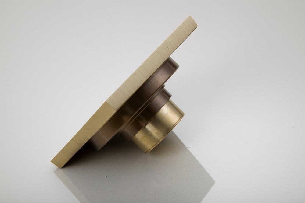 5402 Construction Real Estate Luxury European Antique Brass Kitchen Bath Fixtures Bathroom Parts Floor Drains