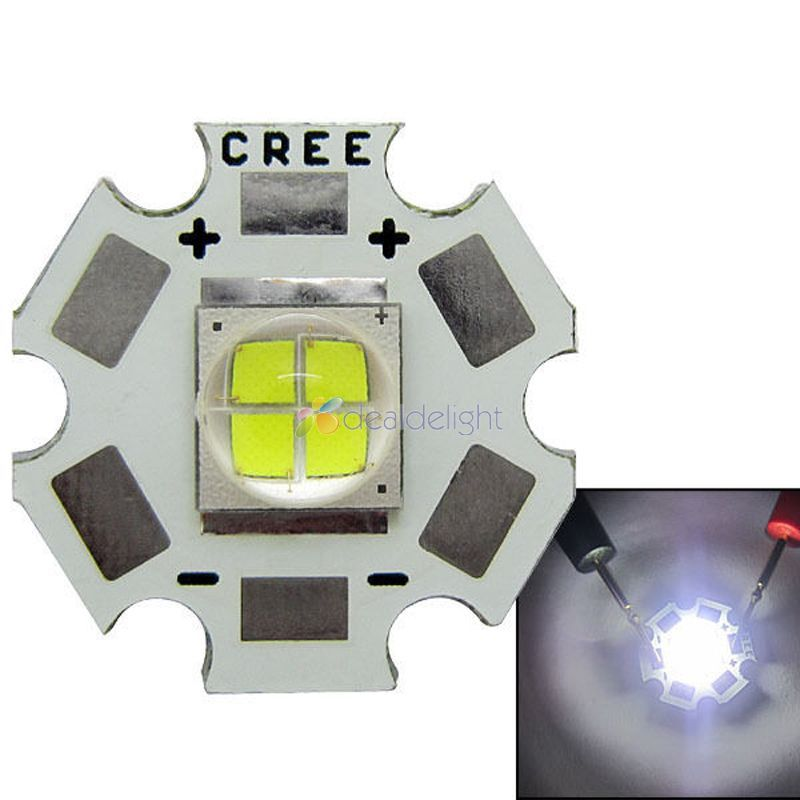 New Cree Lamp MKR MK-R LED 6000K 15W White LED Bulb Light with 20mm Board Up to 1769LM Free Shipping<br><br>Aliexpress