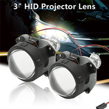 Buy 2Pcs 35W 3Inch LHD Bi-xenon HID Projector Lens Shrouds H1 H4 H7 Motorcycle Auto Car Headlight Full Kit 3000K-6000K for $32.87 in AliExpress store