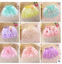 2016 Hot Sale Falda Retail Girls Skirts Trade Explosion Models Baby Skirt Girl Pettiskirt Cake Ballet Tutu Clothing Dance (China (Mainland))