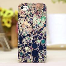 Colorful tree loves bubble Design Customized transparent case cover cell mobile phone cases for iphone 6 6plus hard shell