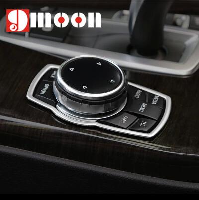 Reacondicionamiento Interior multimedia botones accesorios cubierta para BMW 1 3 4 5 7 Series X1 X3