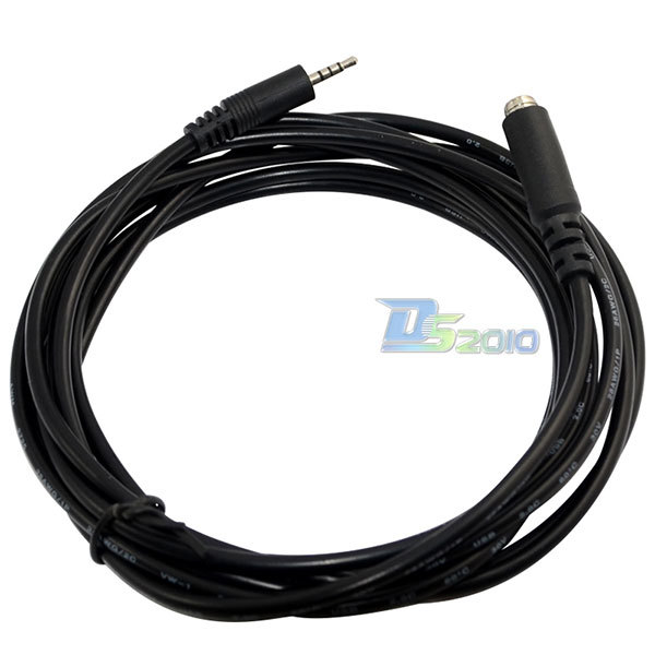 10Ft 3m 2.5mm Female Jack to Male Plug 4 Pole TRRS Adapter Audio Aux Cable Cordnew<br><br>Aliexpress