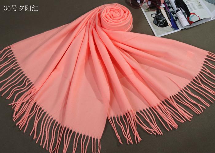 Free Shipping Sunset Red Winter Chinese Women's Cashmere Shawl Scarf chal bufanda Bufandas Thick Warm Wrap WS009-N(China (Mainland))
