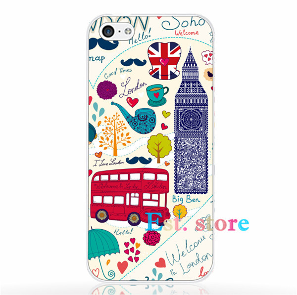 England coach UV print hard interesting innovating type phone case for iphone 4 4s 6 5 5s 6P plus 4.7 5.5inch emboss back cover(China (Mainland))