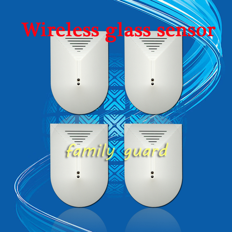 Free Shipping!4pcs Wireless 433mhz or 315mhz Glass Break Detector For GSM Phone pstn SMS Alarm System Door Window Glass Security<br><br>Aliexpress
