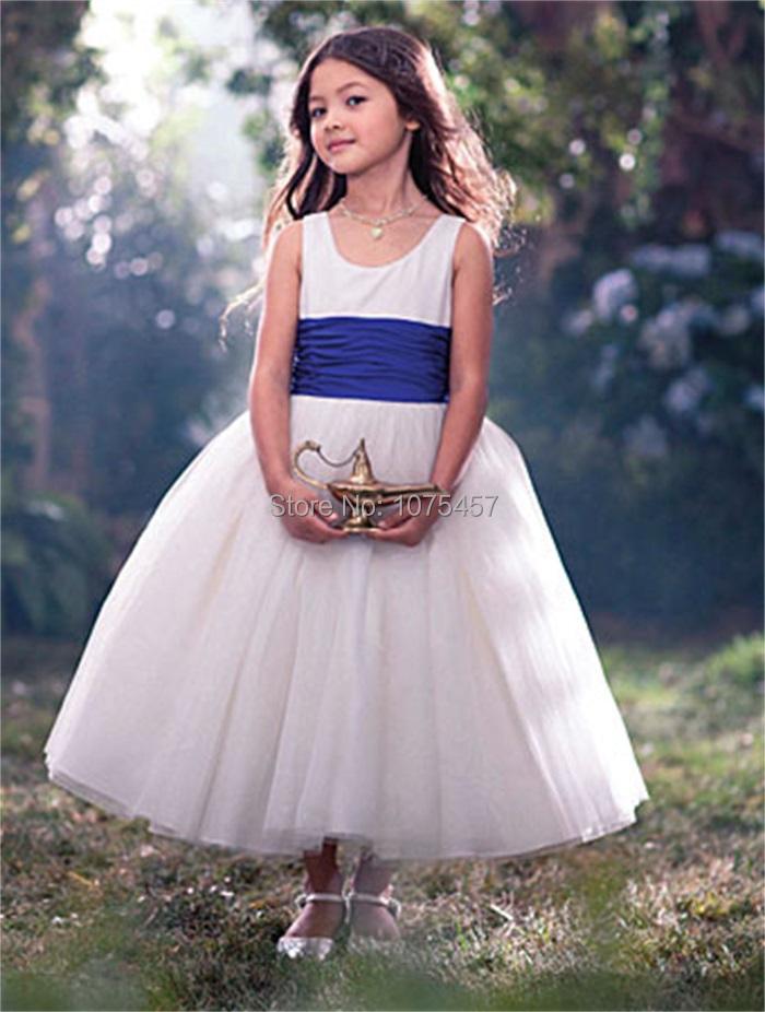 Flower Girls Dress For Wedding 2015 Vintage Girl First Communion Dress