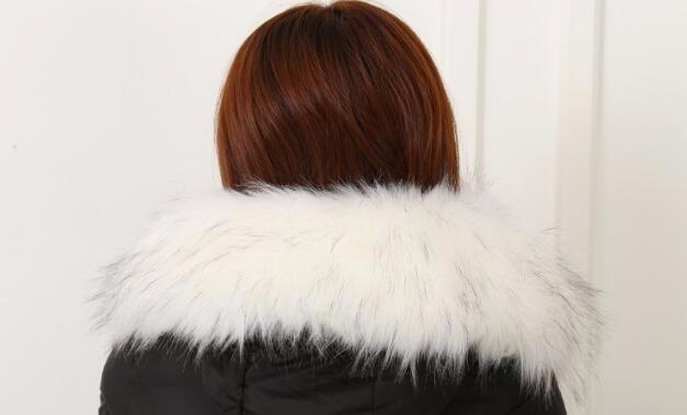 New Women Faux Fox Fur Scarf Collar Shawl Men Luxury Winter Coat Collar decor Promotion Hot Sale Hat Decor Scarf 2017 10 Colors