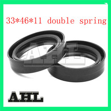1 pair Motorcycle Parts Front Fork Damper oil seal for Honda CB400T CB400 T CB 400T 400 T Hawk 80-81 Motorbike Shock absorber