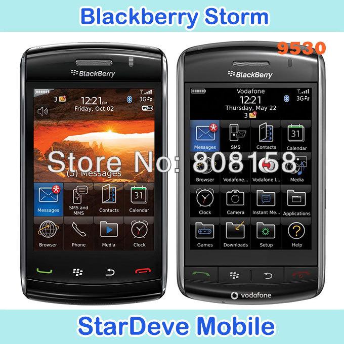 Original Blackberry 9530 storm Unlocked Smartphone Valid PIN+IMEI 3G refurbished Phone(China (Mainland))