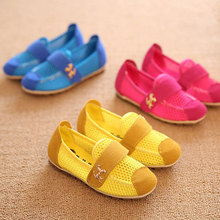 2015 New Design Horse Charm Kids Summer Mesh Hollow Sandals for Girls Boys Brand Wholesale Boys